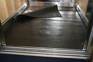Standaard vloerbescherming voor liften